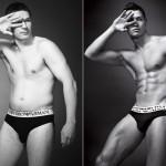 Người mẫu quần lót nam: Đọ hàng không?