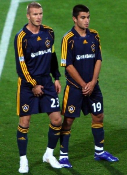 David Beckham lo hang