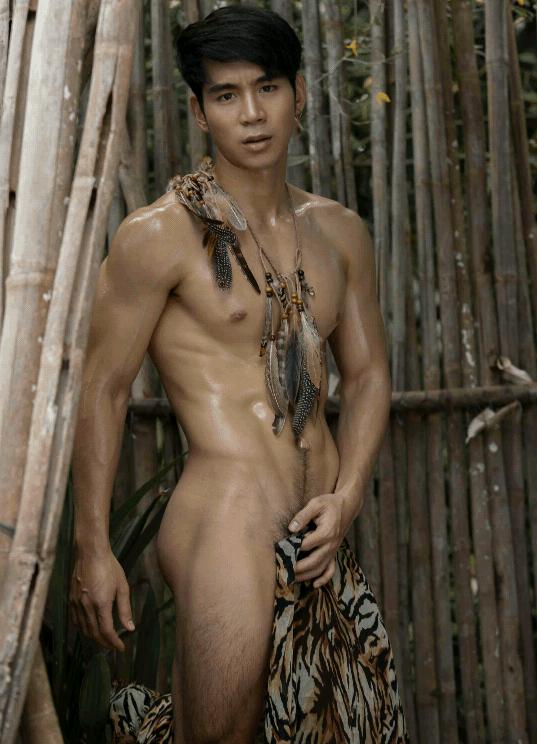 người mẫu quần sịp Earl Nontapak