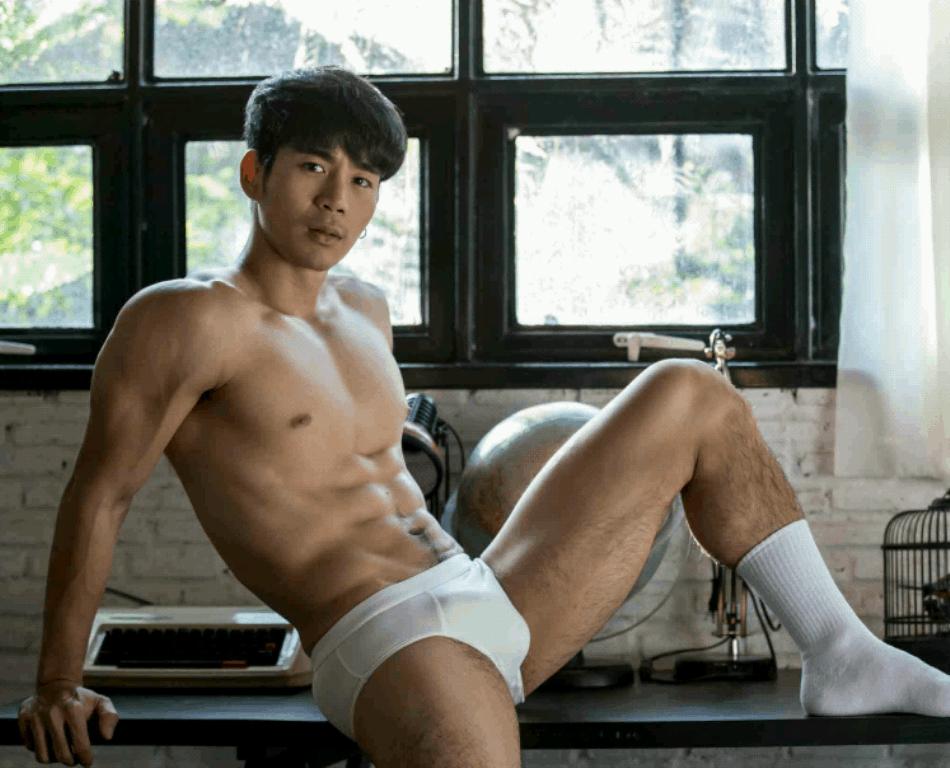 người mẫu Earl Nontapak
